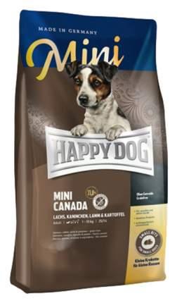 Сухой корм для собак Happy Dog Supreme Mini Canada, мелих пород, рыба, 1кг