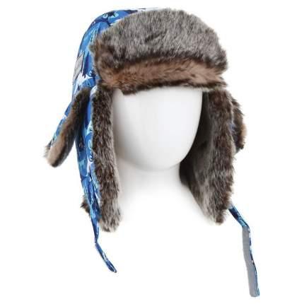 Детская шапка меховая Lappi Kids 0905 р.46 см 811 голубой
