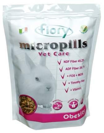 Корм для кроликов FIORY Micropills Vet Care Obesity 0.85 кг 1 шт