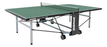 Теннисный стол Donic Outdoor Roller 1000 зеленый, с сеткой