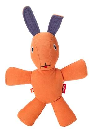 Мягкая игрушка Fatboy Кролик 30 см оранжевый