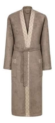 Халат банный Togas Милан коричневый (XL)