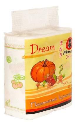 Бумажные полотенца Maneki dream 2 рулона по 60 листов