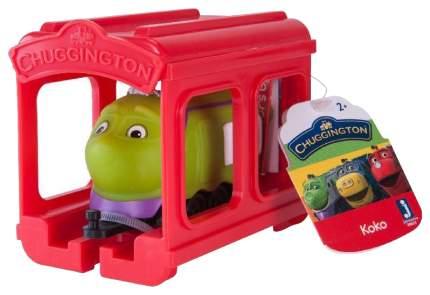 Гараж игрушечный Jazwares Chuggington Паровозик Коко