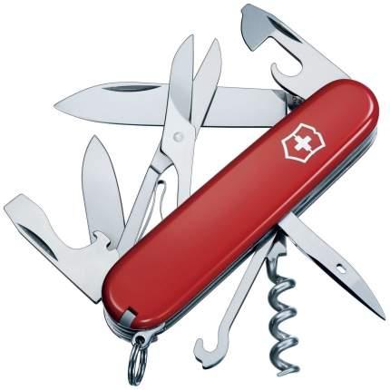 Мультитул Victorinox Climber 1.3703 91 мм красный/серебристый, 14 функций