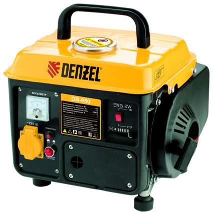 Генератор бензиновый DENZEL DB950 0,75 кВт 220В 4 л ручной пуск