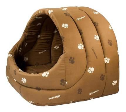 Домик для кошек Дарэлл 54х48х44 см коричневый