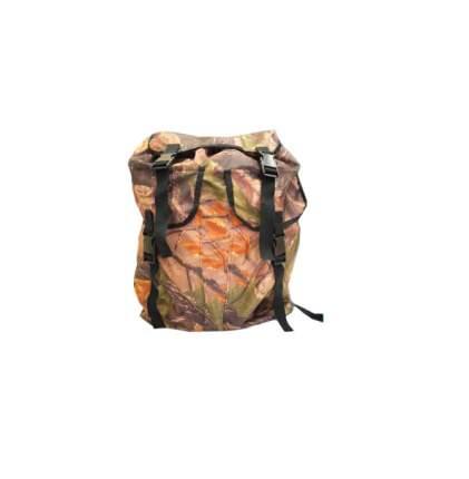 Туристический рюкзак Чайка Дачник 35 л коричневый/зеленый/оранжевый