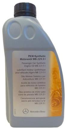 Моторное масло Mercedes-Benz AAA6 5w-30 1л