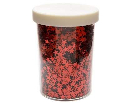 Kaemingk Декоративные блестки Звездочки 6 мм красные 80 г 439561