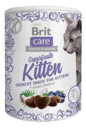 Снэки для кошек Brit Care, курица, кокос, голубика, 0,1кг