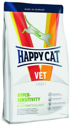 Сухой корм для кошек Happy Cat Vet Hypersensitivity, при пищевой аллергии, овощи, 1,4кг