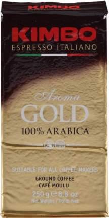 Кофе молотый Kimbo aroma gold 100% arabica 250 г