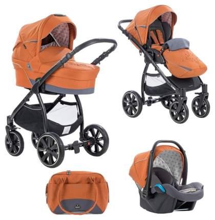 Коляска 3 в 1 Noordi Polaris Comfort 678 Оранжевая