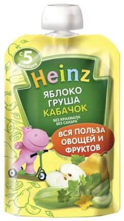 Пюре фруктовое Heinz Яблоко, груша, кабачок с 5 мес 90 г