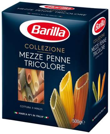 Макароны Barilla mezze penne tricolore 500 г