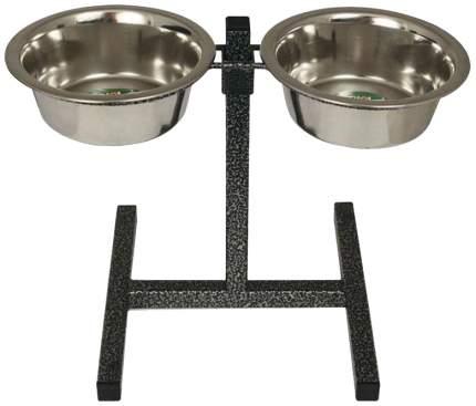 Подставка под миску для собак черный 400
