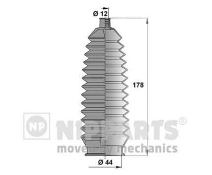 Пыльник рулевой рейки Nipparts N2844014