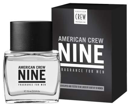 Туалетная вода American Crew Nine Display 75 мл