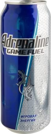 Энергетический напиток игровая энергия Adrenaline game fuel жестяная банка 0.5 л