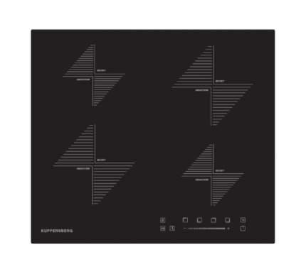 Встраиваемая варочная панель индукционная KUPPERSBERG ICS 604 Black
