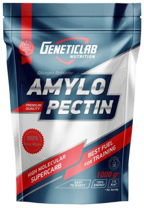 Изотоник GeneticLab Nutrition Amylopectin, 1000 г, natural