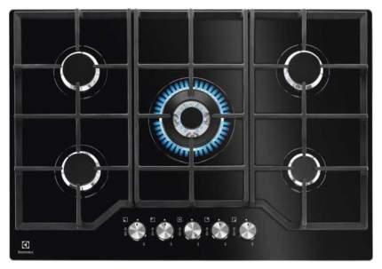 Встраиваемая варочная панель газовая Electrolux GPE373YK Black