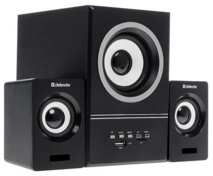 Колонки компьютерные DEFENDER V10 Черный 2,1, 11 Вт, FM/MP3/USB