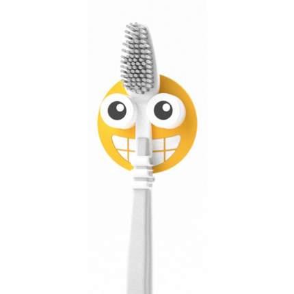 Держатель для зубной щётки Emoji желтый