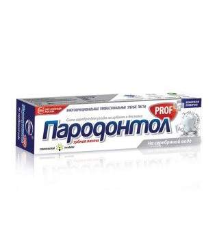 Зубная паста Пародонтол PROF на серебряной воде 124 г