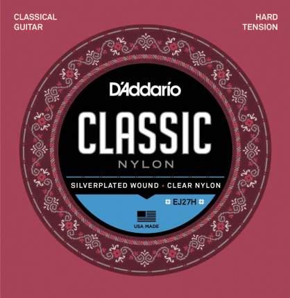 Струны для классической гитары D ADDARIO EJ27 H
