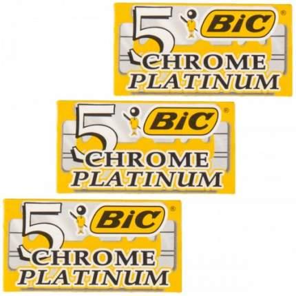 Сменные лезвия BIC CHROME PLATINUM 3 шт