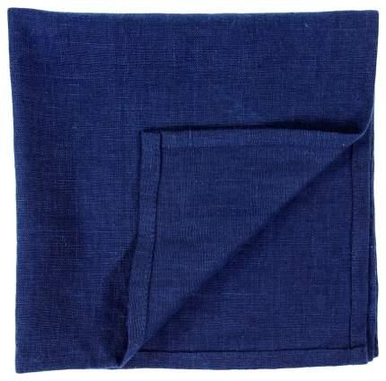 Сервировочная салфетка из умягченного льна темно-синего цвета Essential 45х45