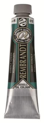 Краска масляная Rembrandt туба 40мл №610 Кобальт зелёный