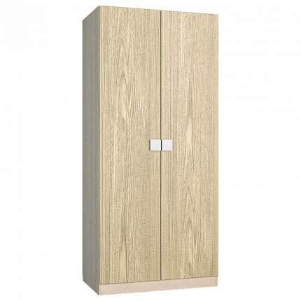 Платяной шкаф Компасс-мебель Александрия АМ-1 KOM_AM1_1 90x53x200,5, береза снежная