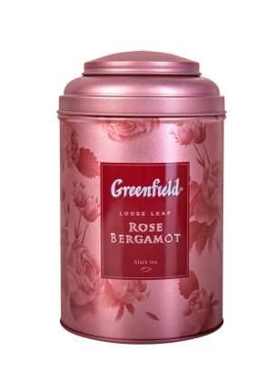 Чай черный Greenfield Rose Bergamot листовой в жестяной банке 100 г