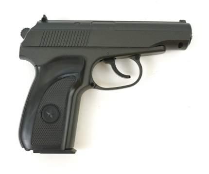 Страйкбольный пружинный пистолет Galaxy  Китай (кал. 6 мм) G.29B (ПМ) черная рукоятка