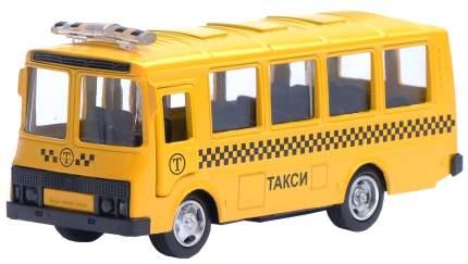 Автобус металлический инерционный Такси