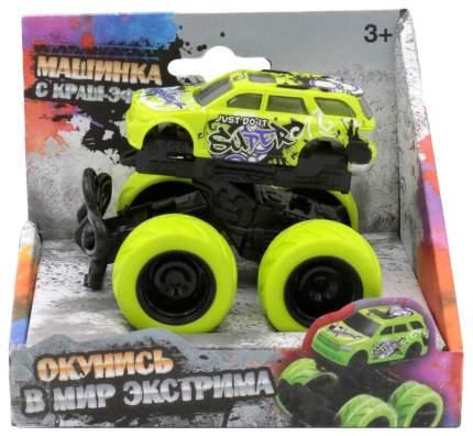 Машинка с краш-эффектом, зеленая Funky Toys