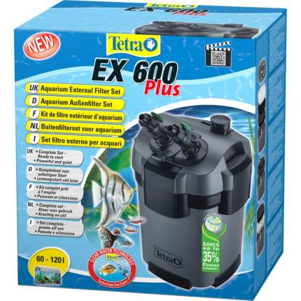 Фильтр для аквариума внешний Tetra ЕХ 600 Plus, 630 л/ч, 7,5 Вт