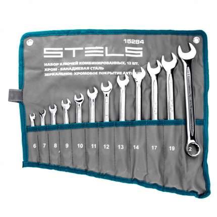 Набор комбинированных ключей STELS 15284