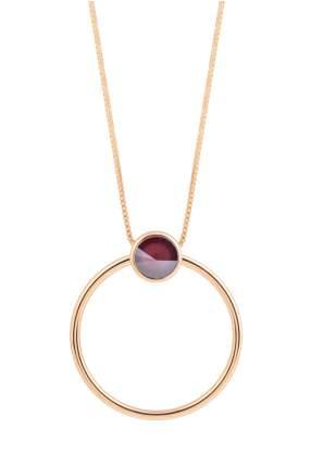 Колье женское Fiore Luna B1611.10 RG фиолетовое