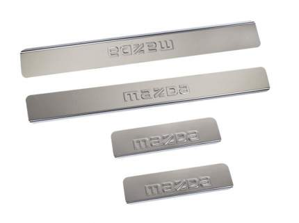 Накладки на пороги Mazda CX-7 2006-2012 Dollex NPS-030