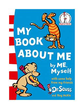 "Книга Harper Collins Publishers Dr. Seuss ""My Book About Me"""
