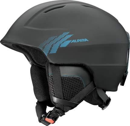 Горнолыжный шлем Alpina Chute 2019, черный, L