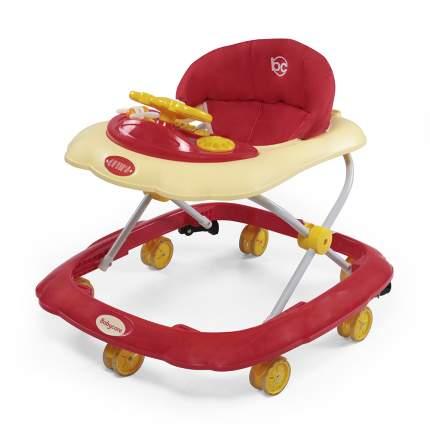 Ходунки Baby Care Optima красные