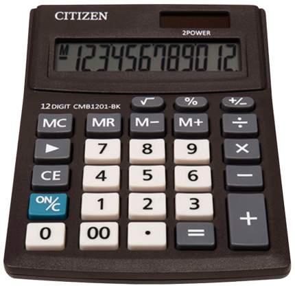 Калькулятор Citizen BUSINESS LINE CMB1201BK, настольный, 12 разрядов, 100x136 мм