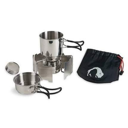 Набор туристической посуды с горелкой Tatonka Alcohol Burner Set 4133-000