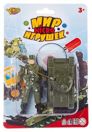 Набор солдат и танк инерционный Yako Toys К88737-GW