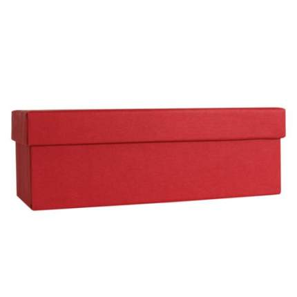 Коробка подарочная Made in Respublica 18 х 8 х 6,5 см, красная